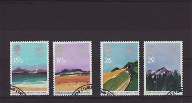 Commonwealth Day Geographical Regions Stamps