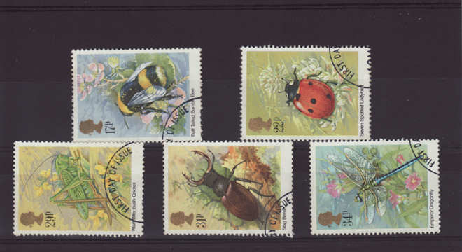 Insects Stamps 1985