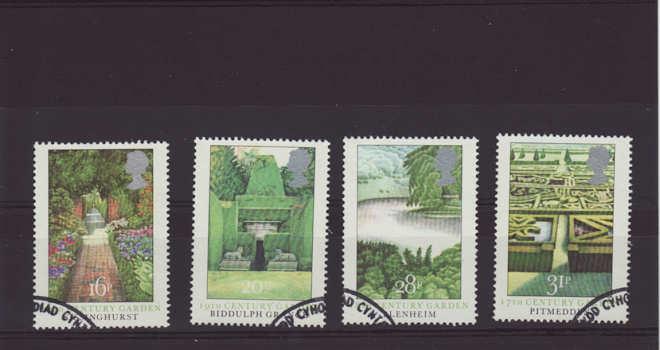 British Gardens Stamps 1983