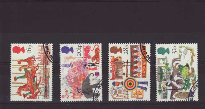 British Fairs Stamps 1983