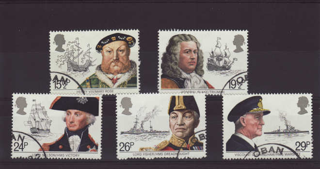 Maritime Heritage Stamps 1982