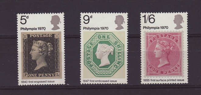 Philympia Stamps