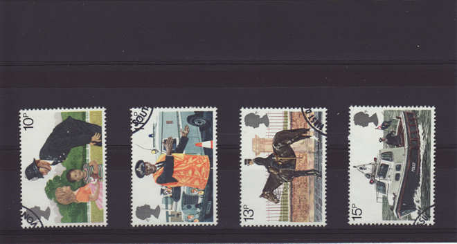Police Stamps 1979