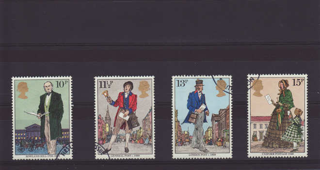 Sir Rowland Hill Stamps 1979