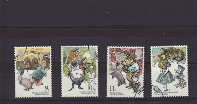 International Year of the Child Stamps 1979