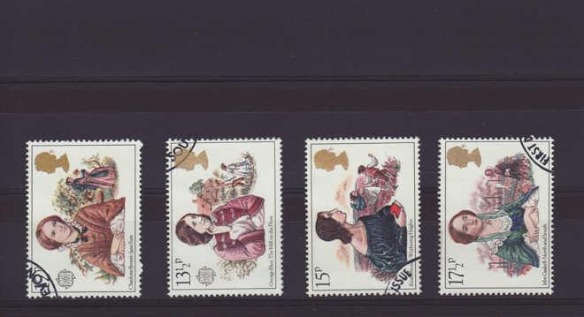 Famous authoresses Stamps 1980