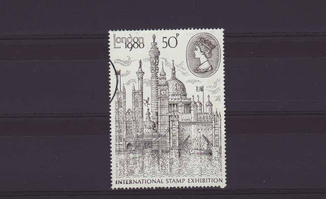 London 1980 International Stamp Exhibition Stamp 1980