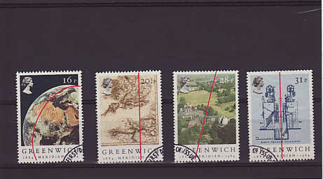 Greenwich Meridian Stamps 1984