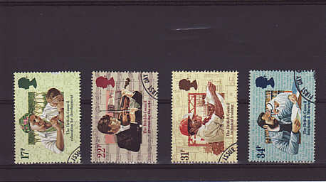 British Council Stamps 1984