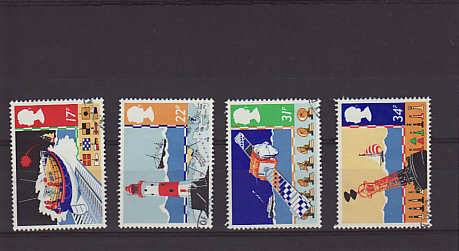 Safety at Sea Stamps 1985