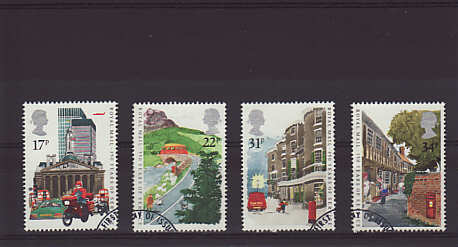 Royal Mail 350th Anniv Stamps 1985