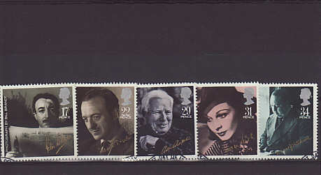 British Film Year Stamps 1985