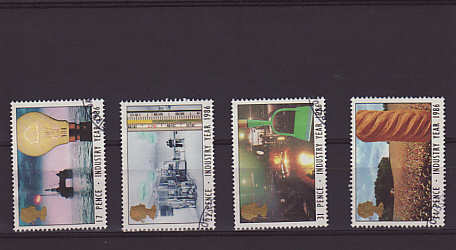 Industry Year Stamps 1986