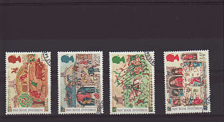 Medieval Life Stamps 1986
