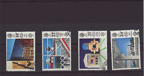 Europa British Architects Stamps 1987