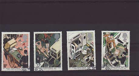 St John Ambulance Stamps 1987
