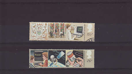 Information Technology Stamps 1982